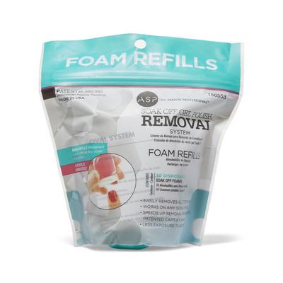 Soak Off Gel Polish Foam Pad Refills