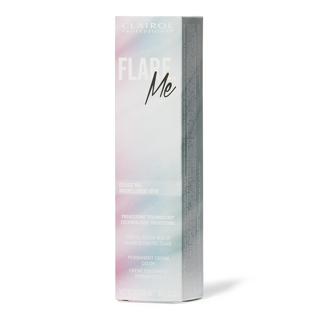 Flare Me Light Permanent Cream Hair Color Clearly You
