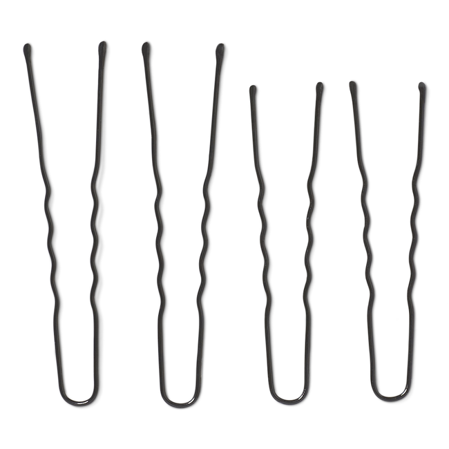 Black Assorted Hair Pins