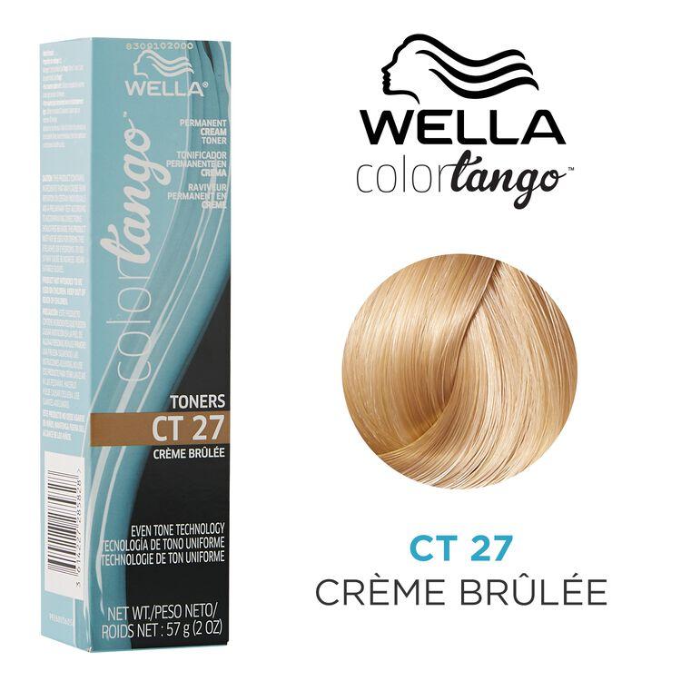 Crème Brûlée Permanent Cream Toner