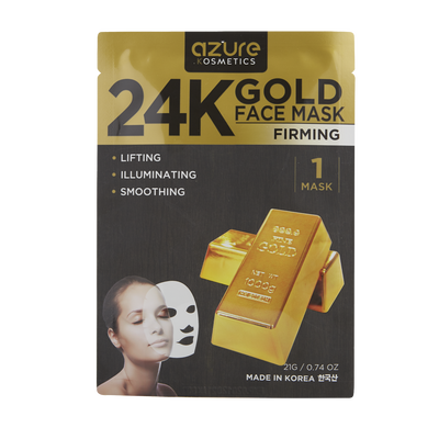 24K Gold Sheet Mask
