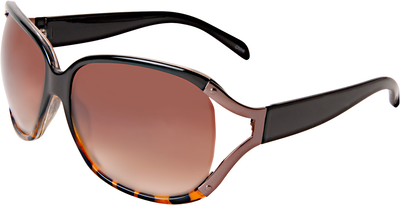 Black & Tortoise Ombre Fashion Sunglasses