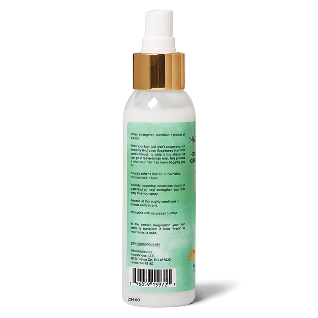 Heavenly Hydration Grapeseed Hair Mist