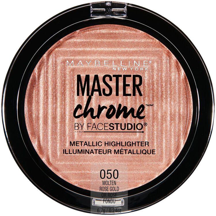 Face Studio Master Chrome Metallic Highlighter Molten Rose Gold