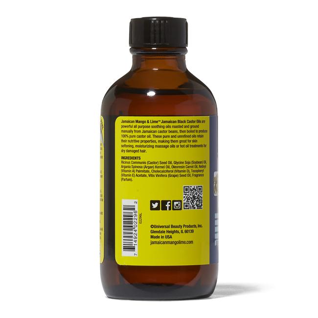 Vitamins A D & E Black Castor Oil