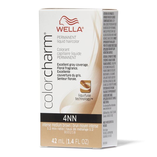 4NN Intense Medium Neutral Brown Permanent Liquid Hair Color