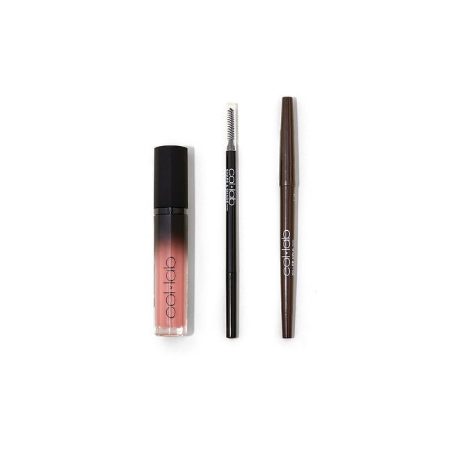 The Essentials Eye Lip & Brow Kit- Chic Glam