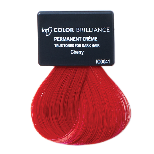 True Tones for Dark Hair Permanent Crème Hair Color Cherry