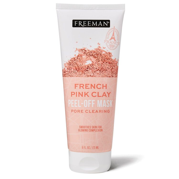 French Pink Clay Peel-Off Mask Tube