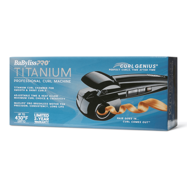 Titanium Curl Genius