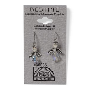 Destine Angel Dangle Earrings