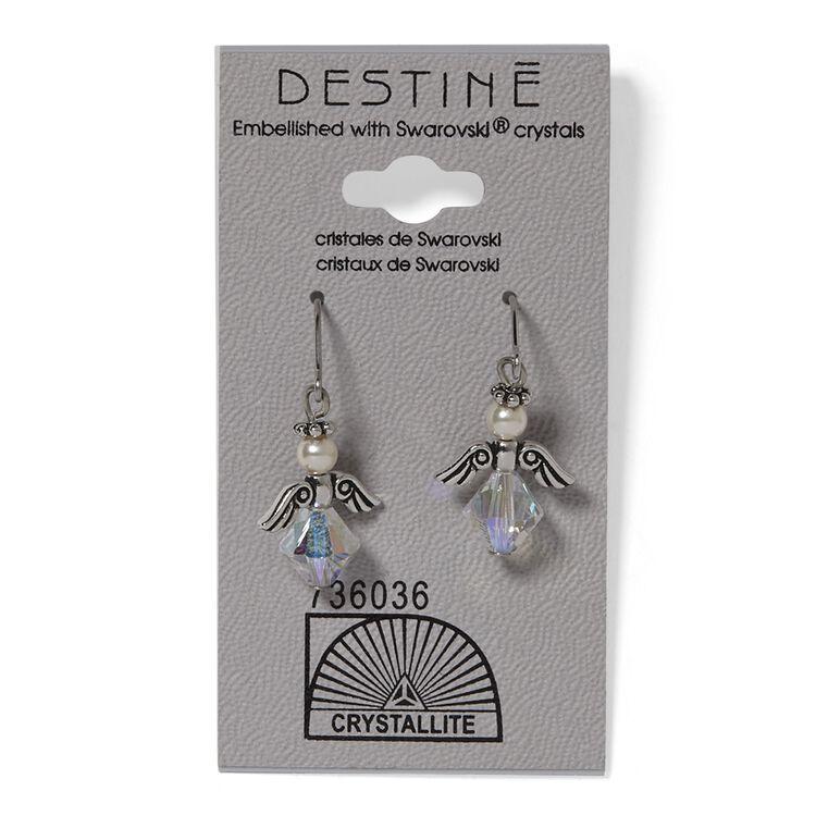 Destine Angel Dangle Earrings