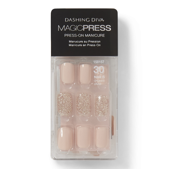 Go Go Glitter Press On Nail Kit