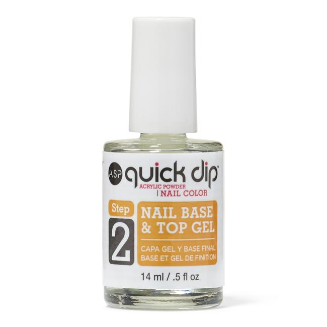 Step 2 Quick Dip Nail Base & Top Gel