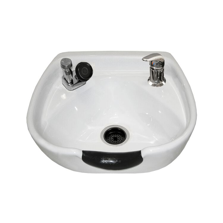 Porcelain White Shampoo Bowl