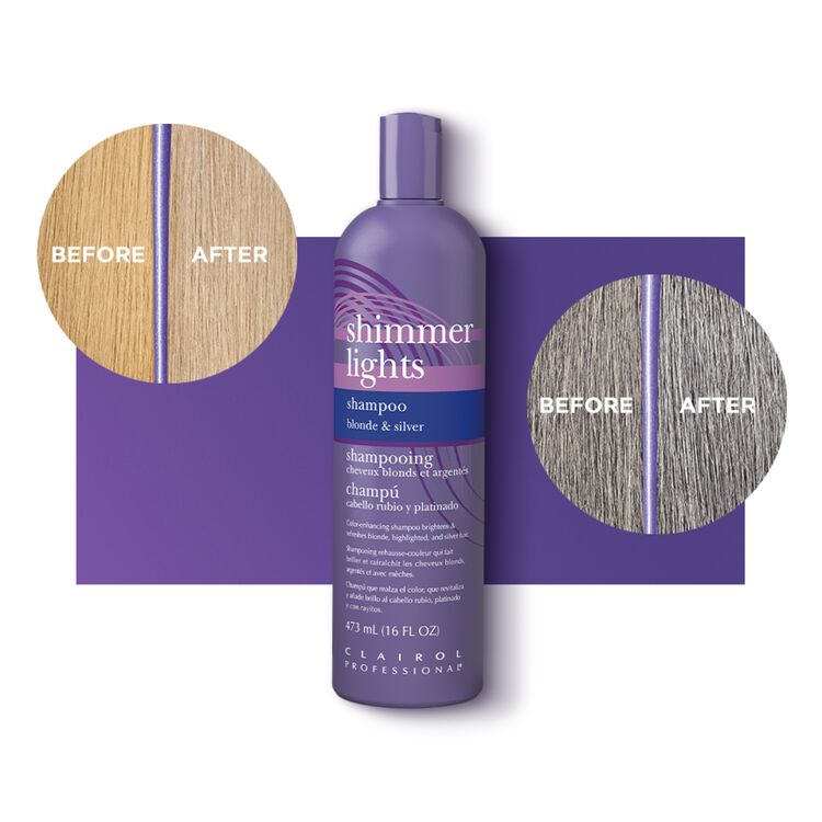 Shimmer Lights Conditioning Shampoo for Blonde & Silver 31.5 oz.