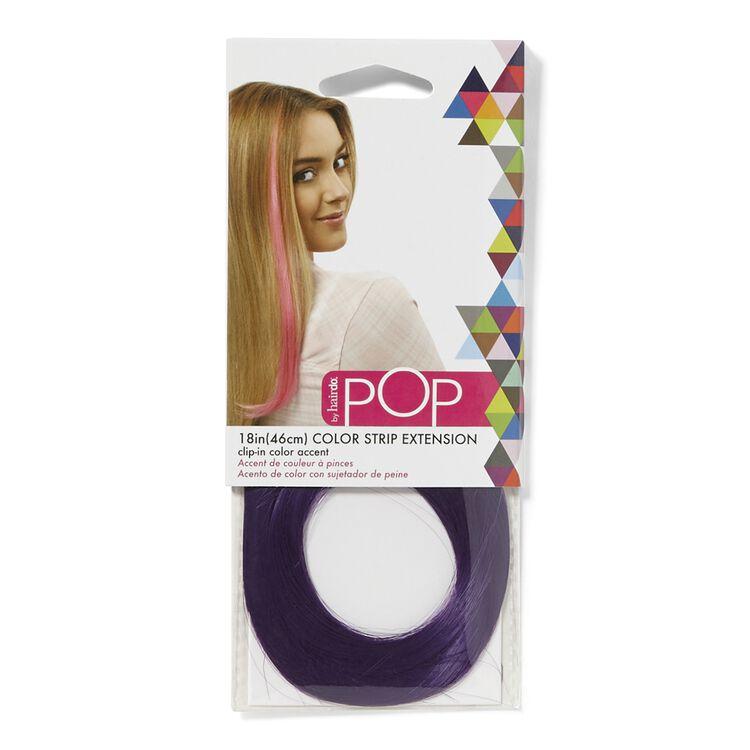 Color Strip Extension Party Purple