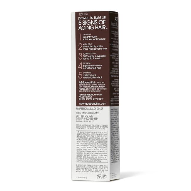 4VR Dark Plum Red Brown Permanent Liqui-Creme Hair Color