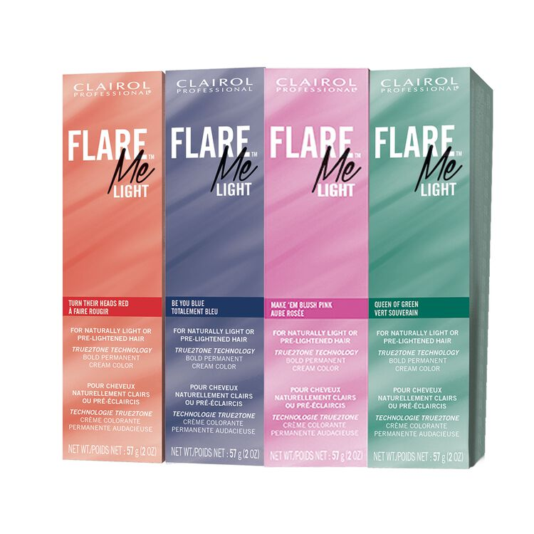 FLARE Me Light Permanent Cream Hair Color