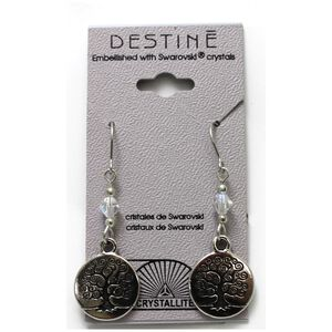 Destine Earring Tree of Life Dangle