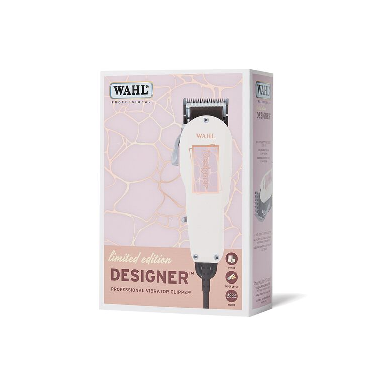 Pink Marble Designer Clipper
