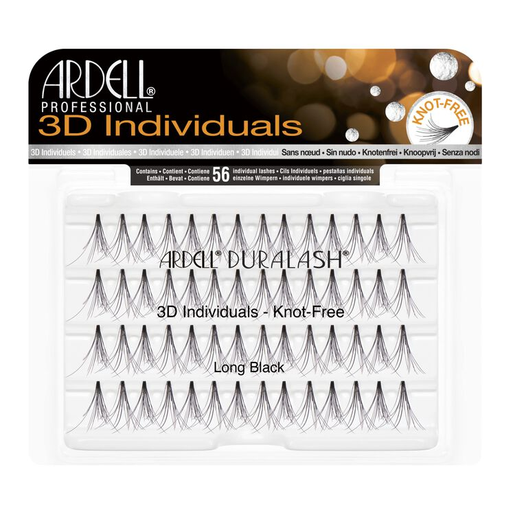 3D Individuals Long Lashes