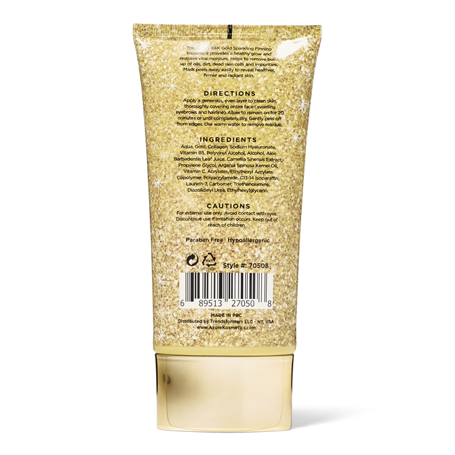 24K Gold Sparkling Peel Off Mask