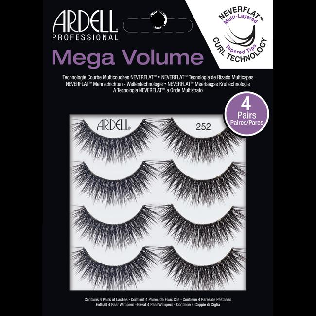 edf1e4b1665 4 Pack Mega Volume 252 Lashes. 99999 by Ardell