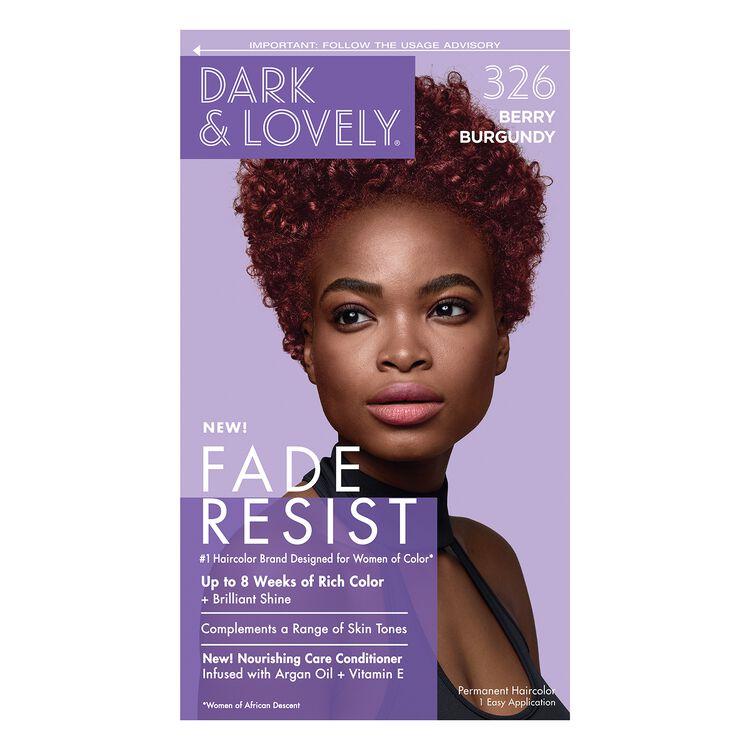 Fade Resistant Berry Burgandy Permanent Hair Color