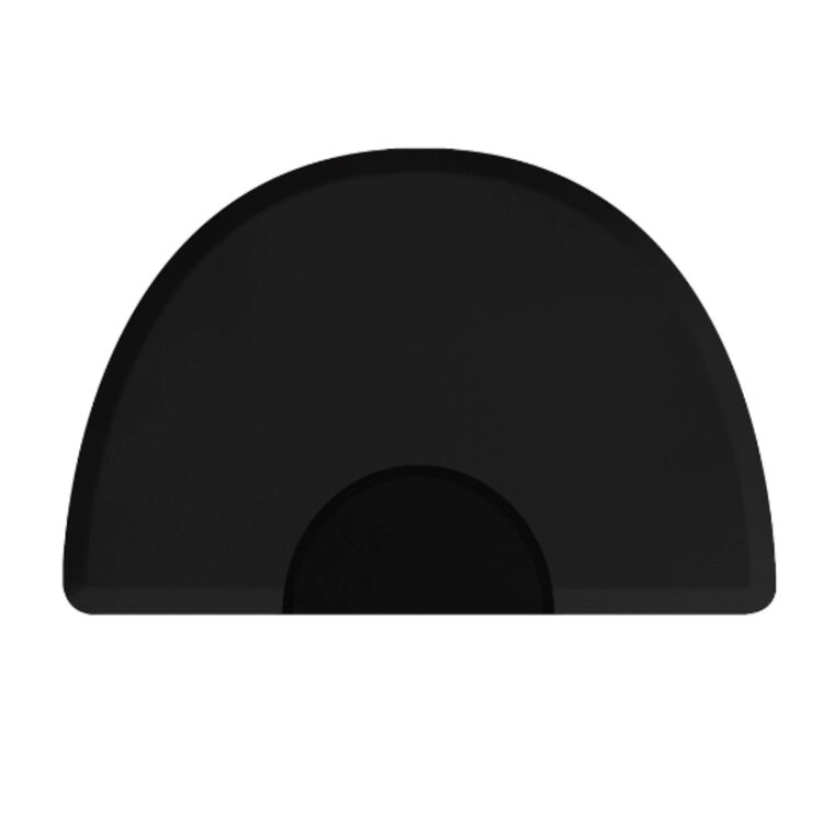 lite Series Round Mat with Chair Depression