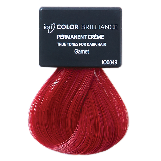 True Tones for Dark Hair Permanent Crème Hair Color Garnet