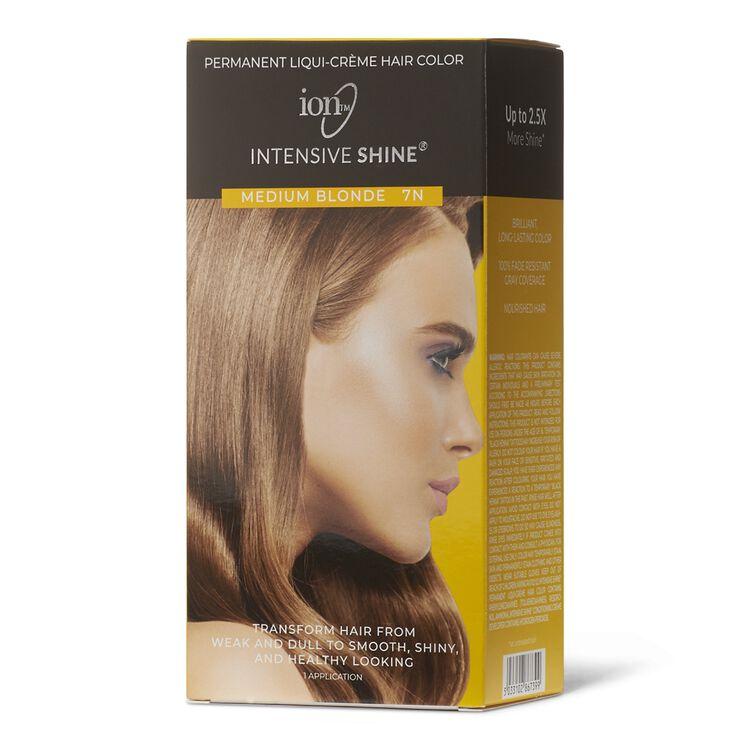 Intensive Shine Hair Color Kit Medium Blonde 7N