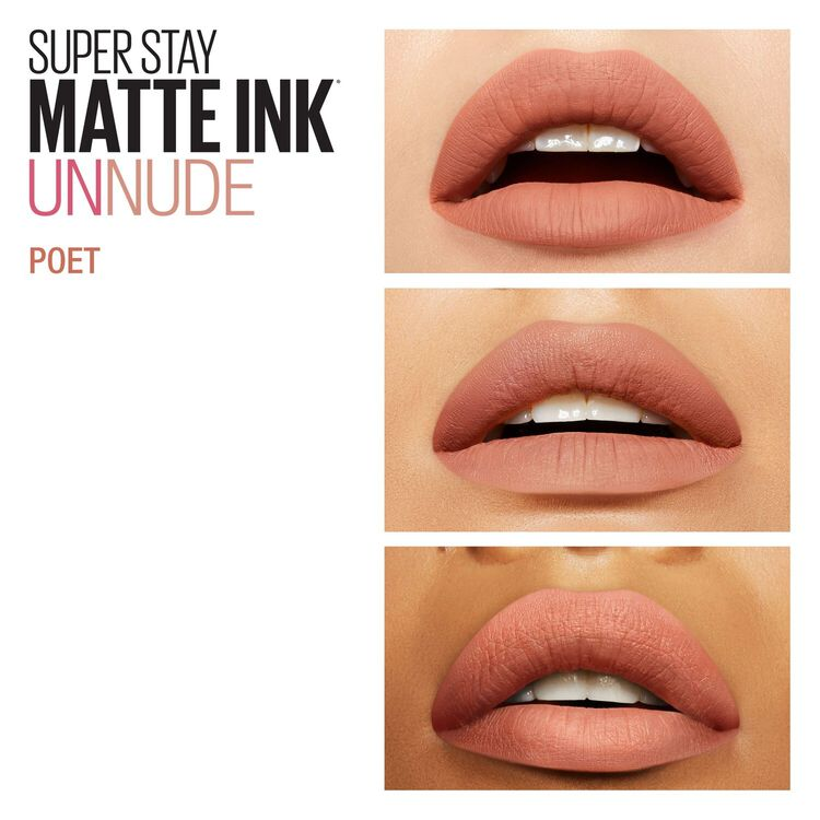 Super Stay Matte Ink Un-Nude Liquid Lipstick Poet