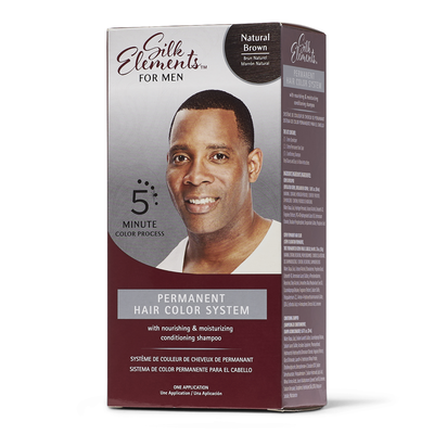 Permanent Hair Color System for Men Natural Brown