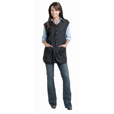 Black Luxurious UltraSilk Stylist Vest