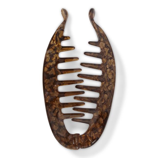 Bronze Tone Banana Clip