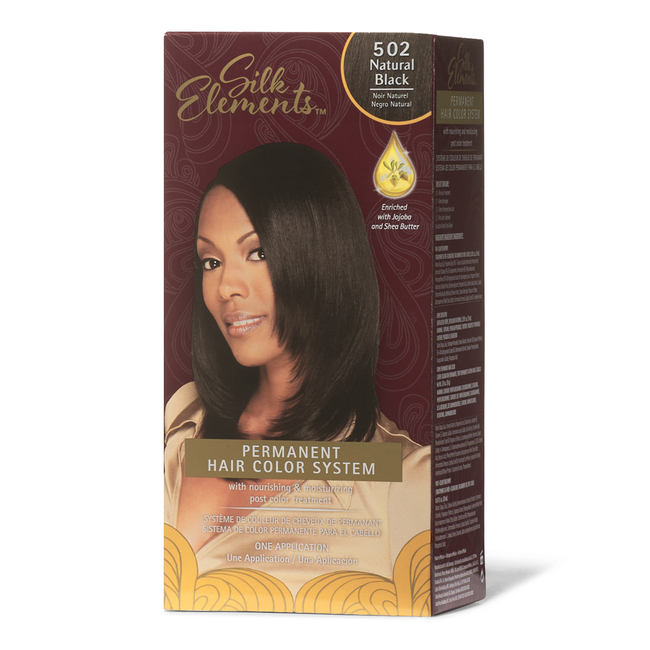 Natural Black Permanent Hair Color