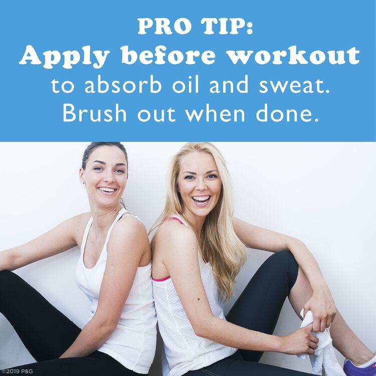 Dry Shampoo No Residue Invisible Spray