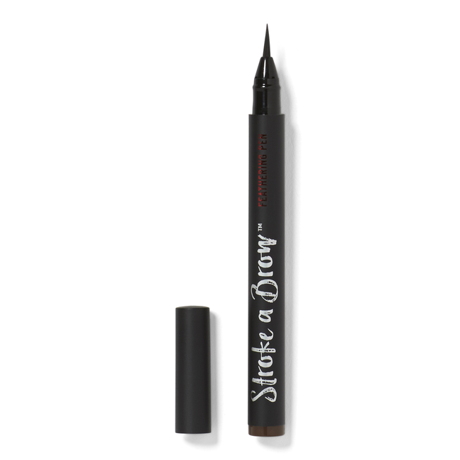 Dark Brown Brow Feathering Pen
