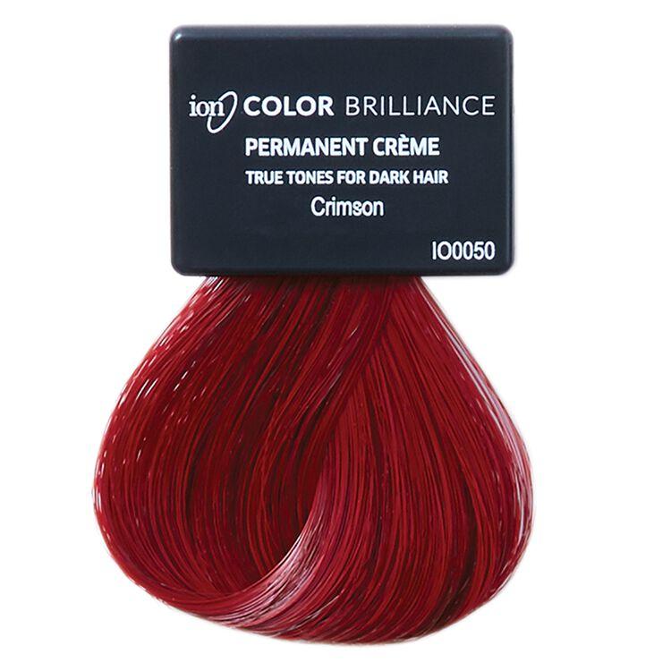 True Tones for Dark Hair Permanent Crème Hair Color Crimson