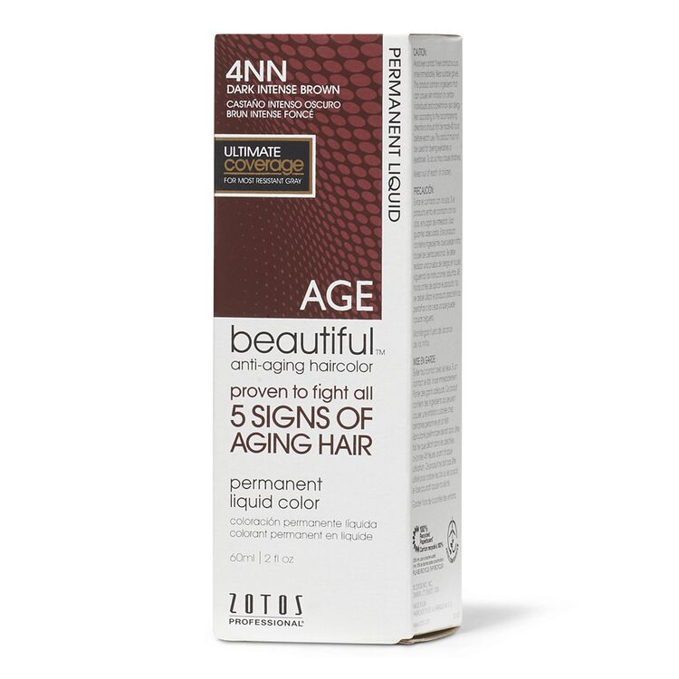 4NN Dark Intense Brown Permanent Liquid Hair Color