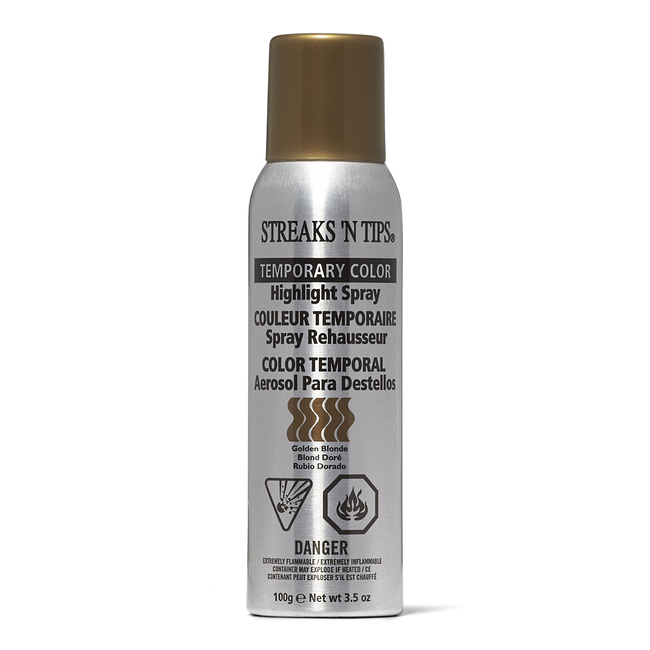 Gold Blonde Temporary Color Highlight Spray
