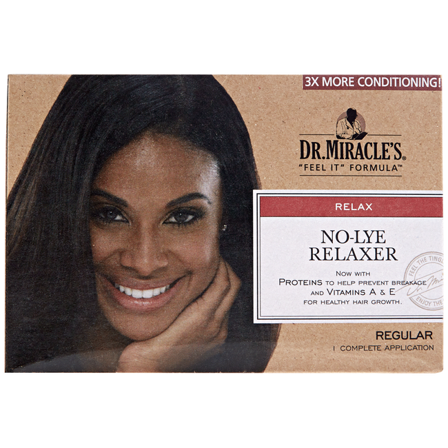 No Lye Relaxer Regular Kit