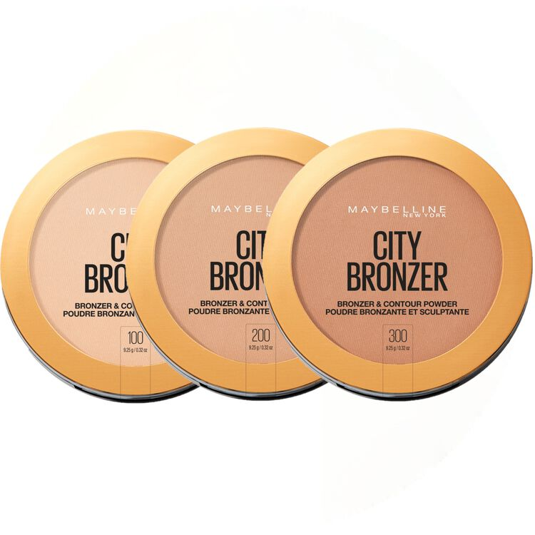 City Bronzer, Bronzer and Contour Powder