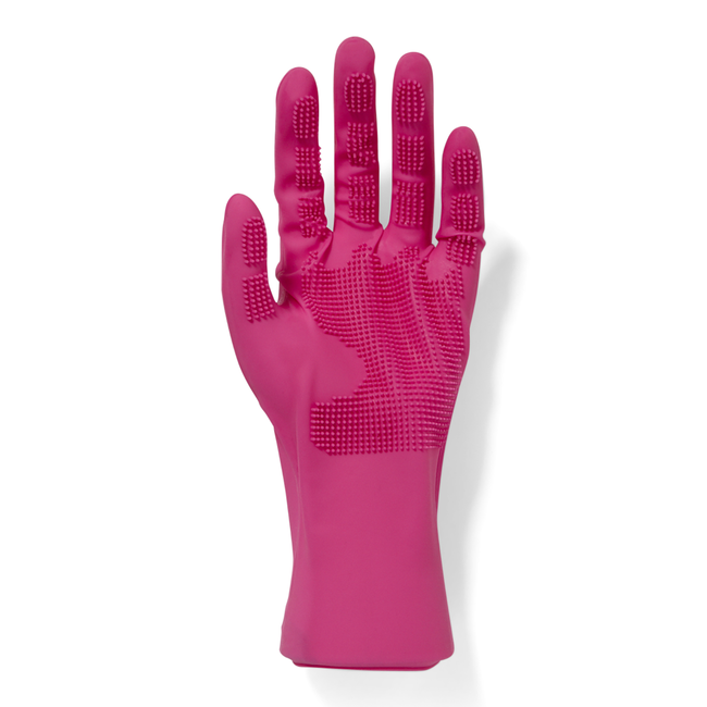 Comb In Silicone Gloves