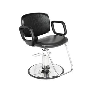 Styling Chair with Chrome Base
