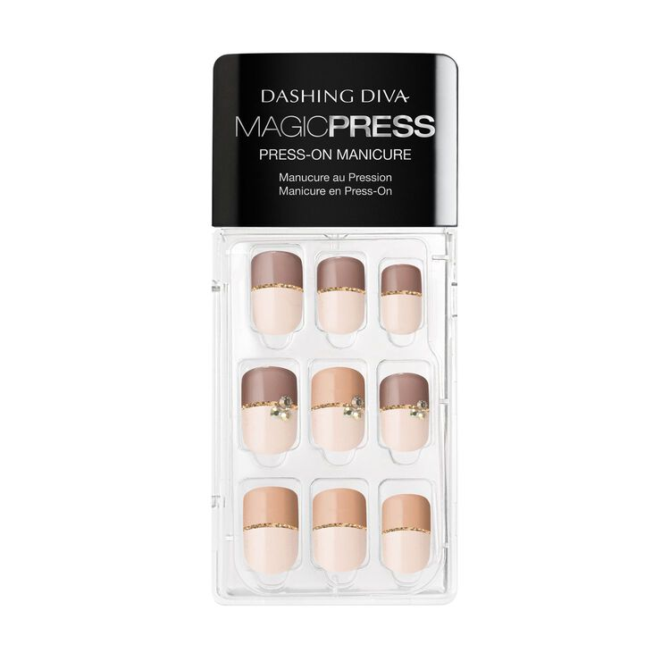 Magic Press on Nails Two Tone Temptation