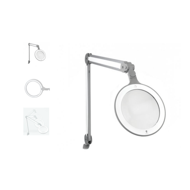 iQ LED Magnifier Lamp