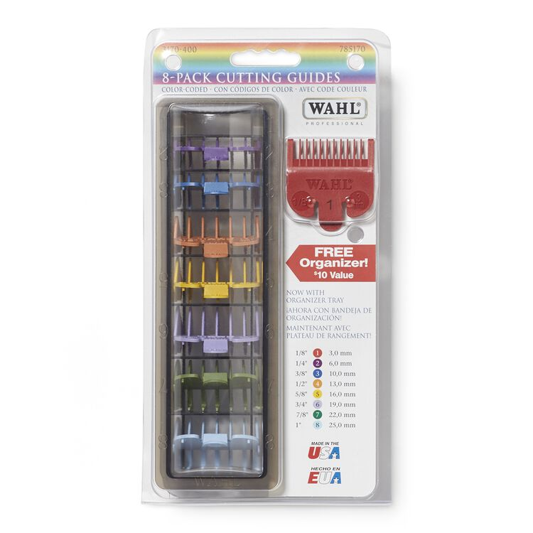 Color Coded Cutting Combs By Wahl Replacement Blades Sally Beauty