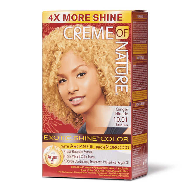 Exotic Shine Ginger Blonde Permanent Hair Color